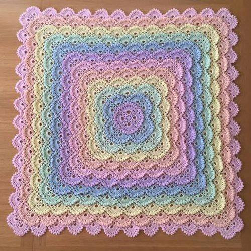 Beautiful Shell Stitch Baby Blanket – Free Pattern Yarn Crochet Crochet Shell Blanket Of Lovely 40 Pictures Crochet Shell Blanket