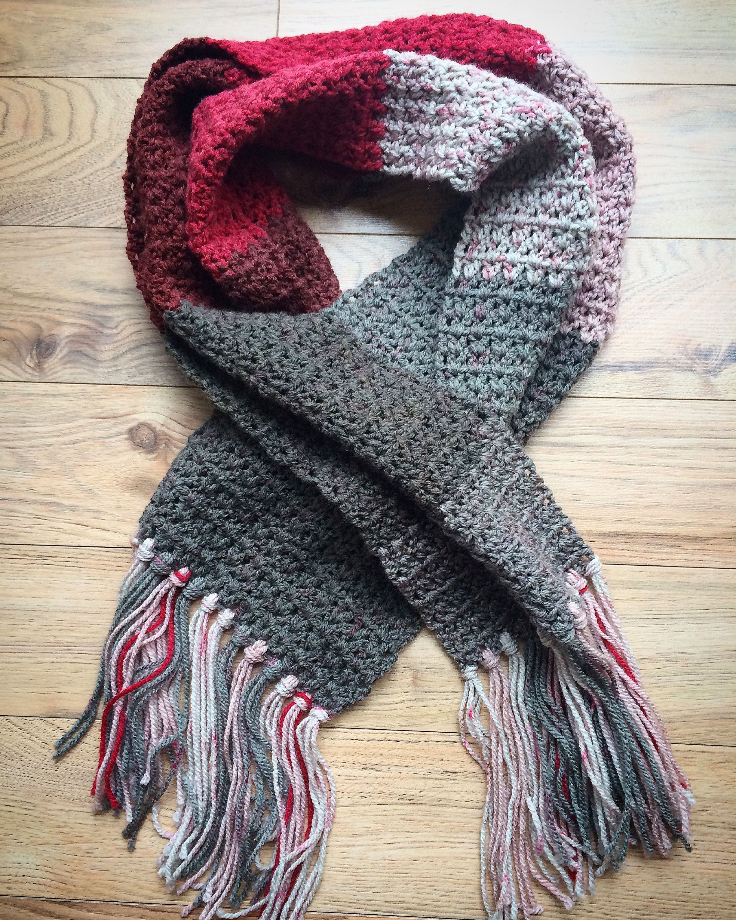 Beautiful Simple Crochet Scarf Using Caron Cakes ️ Crochet Caron Patterns Of Charming 48 Pics Caron Patterns