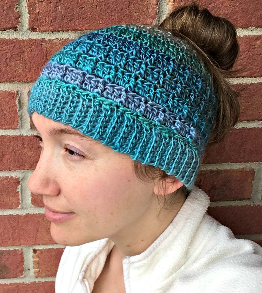 Beautiful Simple Textured Messy Bun Hat Free Crochet Pattern Free Crochet Pattern for Messy Bun Hat Of Beautiful 47 Ideas Free Crochet Pattern for Messy Bun Hat