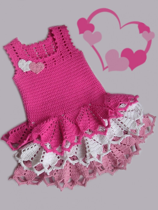 Beautiful Simply Stunning Crochet Valentine S Dress – Free Pattern Crochet Little Girl Dress Of Awesome 44 Images Crochet Little Girl Dress