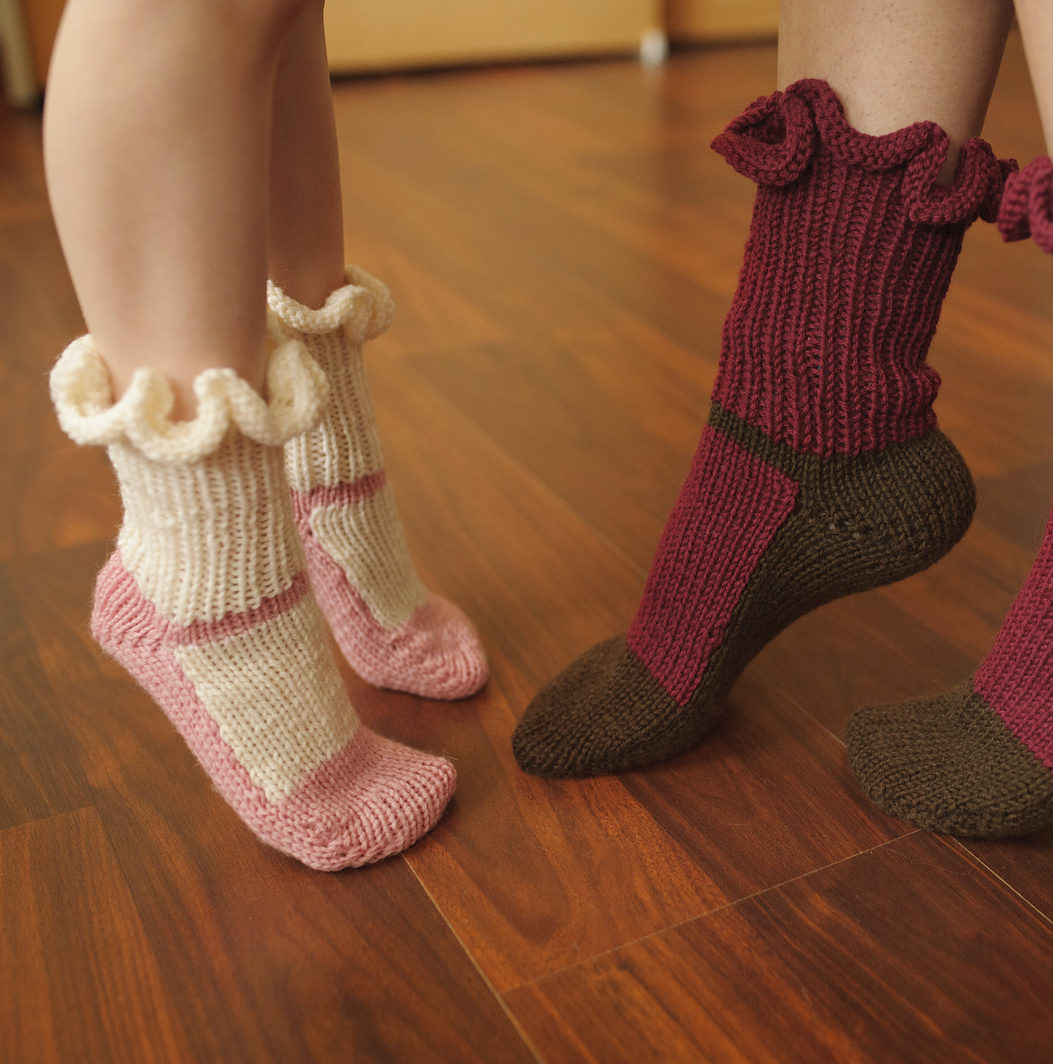 Beautiful Slipper socks and Boots Knitting Patterns Knitted Slipper Boots Of Superb 41 Pics Knitted Slipper Boots