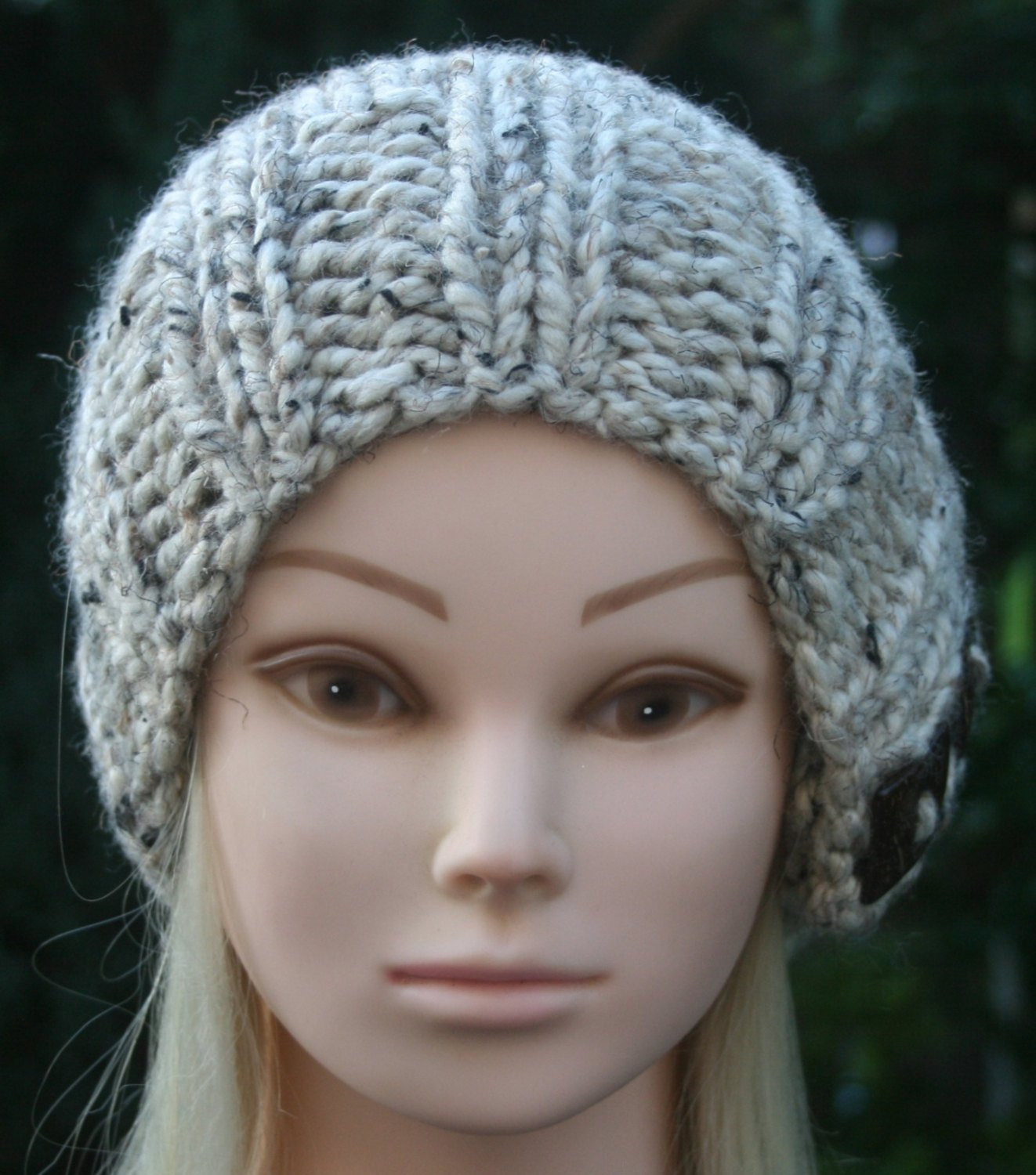 SLOUCHY BEANIE hat Knit Hat Available in different