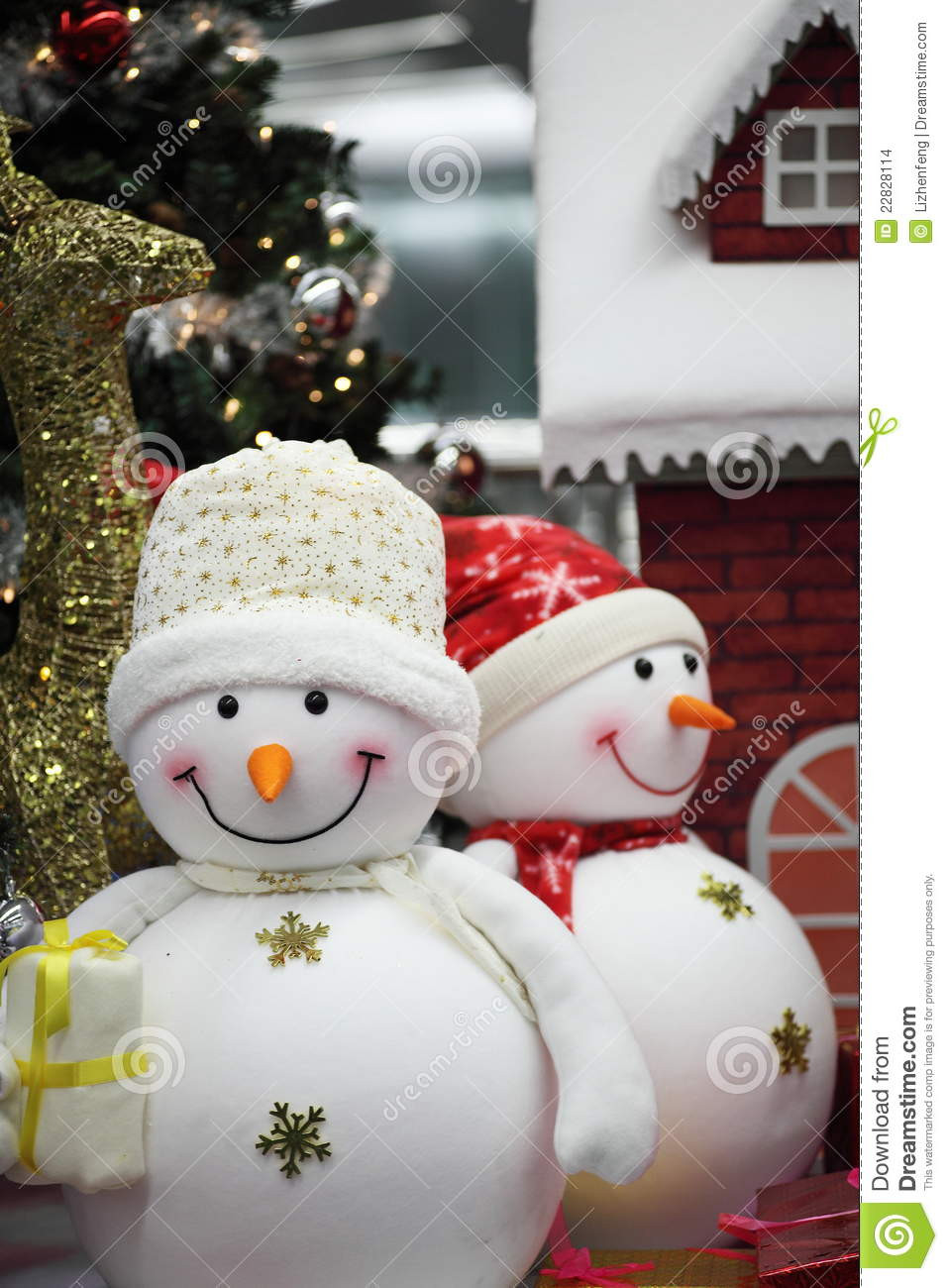 Beautiful Snowman for Christmas Decoration Stock Image Christmas Snowman Decorations Of Adorable 41 Models Christmas Snowman Decorations