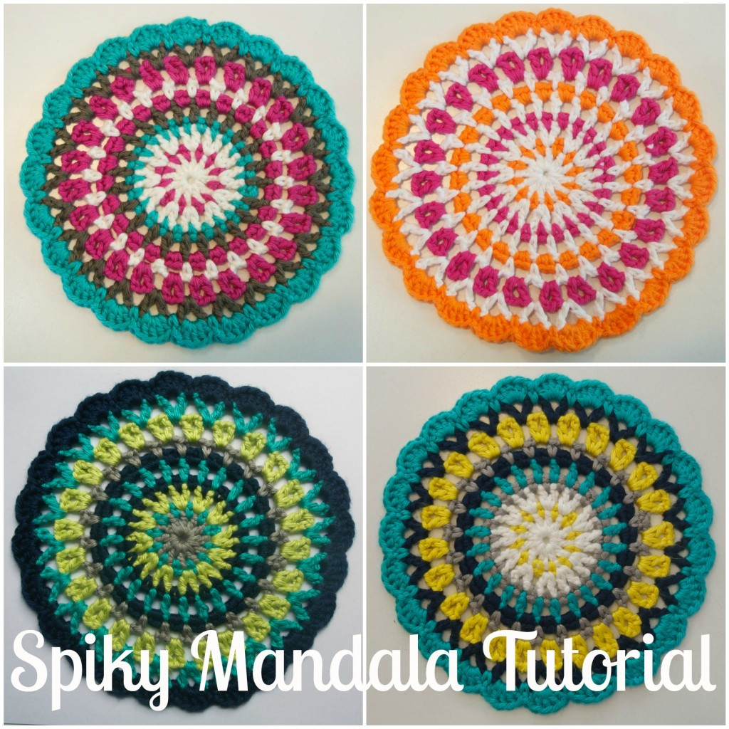 Beautiful Spiky Mandala Tutorial Mandala Crochet Patterns Of Beautiful 48 Pictures Mandala Crochet Patterns