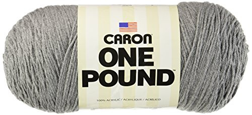 Spinrite Caron one Pound Yarn Medium Grey Mix