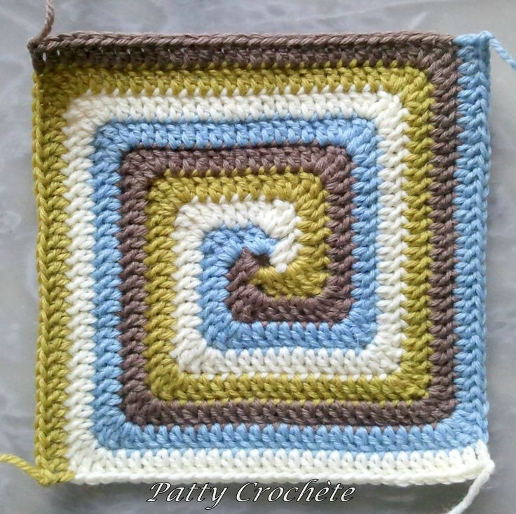 Beautiful Spiral Crochet Square Crochet Afghans Spiral Crochet Pattern Free Of Fresh 44 Models Spiral Crochet Pattern Free