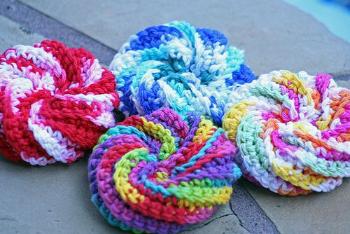 Beautiful Spiral Scrubbies Free Pattern Worked as A Flat Diagonal Spiral Crochet Pattern Free Of Fresh 44 Models Spiral Crochet Pattern Free