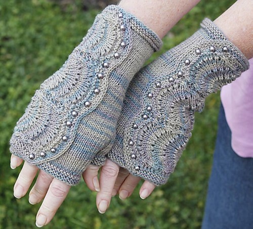 Beautiful Steampunk and Victoriana Knitting Patterns Knitted Fingerless Mittens Of Luxury 48 Images Knitted Fingerless Mittens