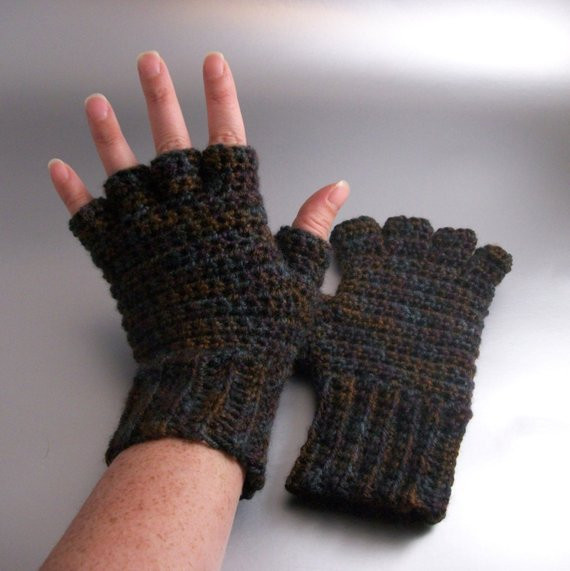 Beautiful Sticks and Stones Half Finger Crochet Gloves Crochet Gloves with Fingers Of Brilliant 50 Pics Crochet Gloves with Fingers