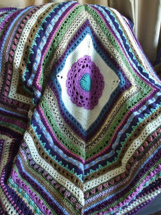 Beautiful Stitch Sampler Afghan In Scraps Crochet Afghan Throw Crochet Sampler Afghan Of Attractive 47 Pictures Crochet Sampler Afghan