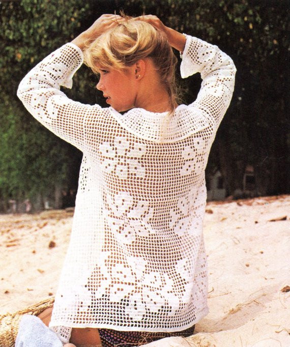 summer bathing suit cover crochet