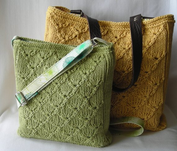 Beautiful Summer Knitted Hipster Purse and tote Knitting Pattern Pdf Knitted Purse Of Amazing 41 Pics Knitted Purse