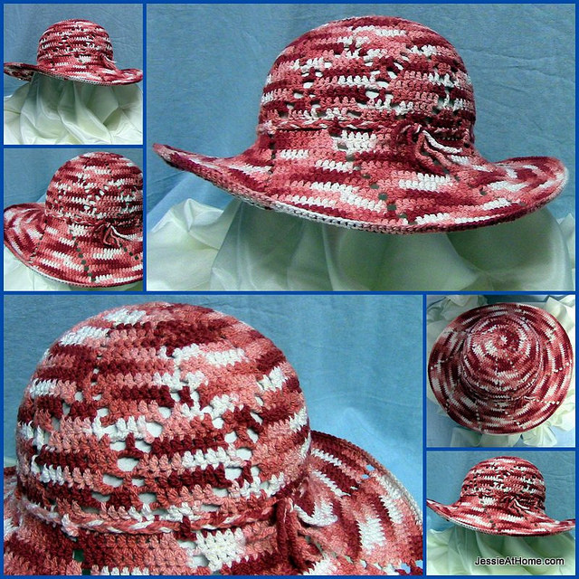 Sun Hat Free Crochet Pattern – AllCrafts Free Crafts Update