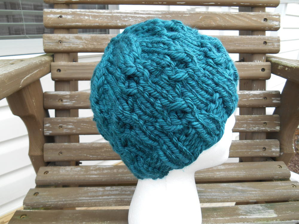 Super Bulky Whirls of Hope Hat