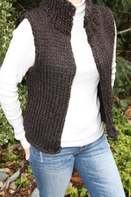 Beautiful Super Bulky Winter Vest Knitted Vest Patterns Of Amazing 50 Models Knitted Vest Patterns