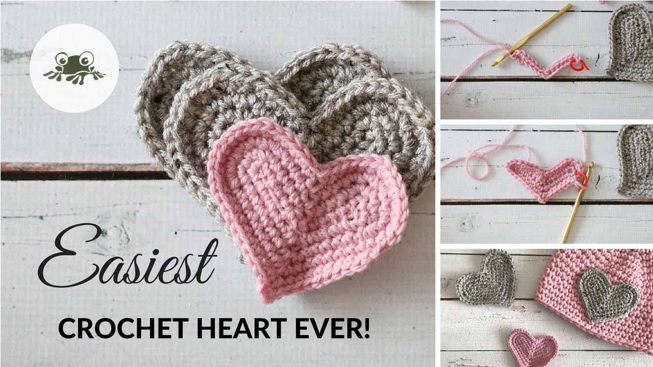 Beautiful Super Easy Crochet Heart Tutorial Youtube Crochet Tutorial Videos Of Lovely 41 Photos Youtube Crochet Tutorial Videos