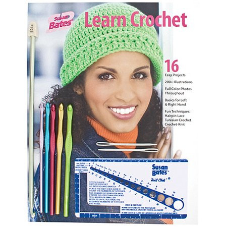 Beautiful Susan Bates Learn Crochet Kit Walmart Learn to Crochet Kit Of Top 39 Pictures Learn to Crochet Kit