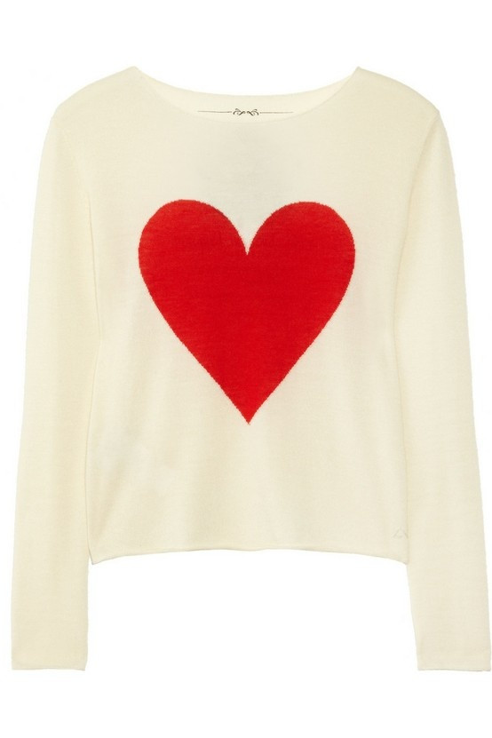 Beautiful Sweater with Big Red Heart Sweater Grey Red Heart Sweater Of Lovely 32 Ideas Red Heart Sweater