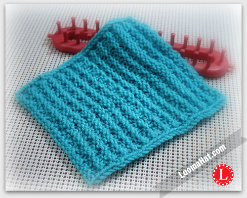 Beautiful Textured Stripes Square A Loom Knitted Square Patterns Of Lovely 50 Models Knitted Square Patterns