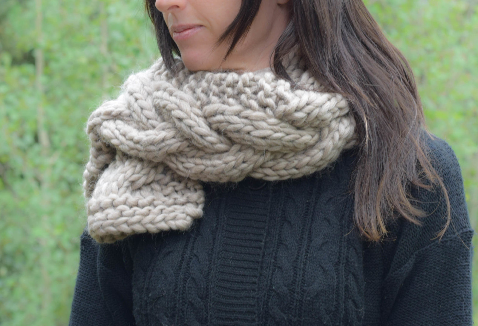 Beautiful the Cascades Knit Scarf – Mama In A Stitch Cable Scarf Of Innovative 49 Ideas Cable Scarf