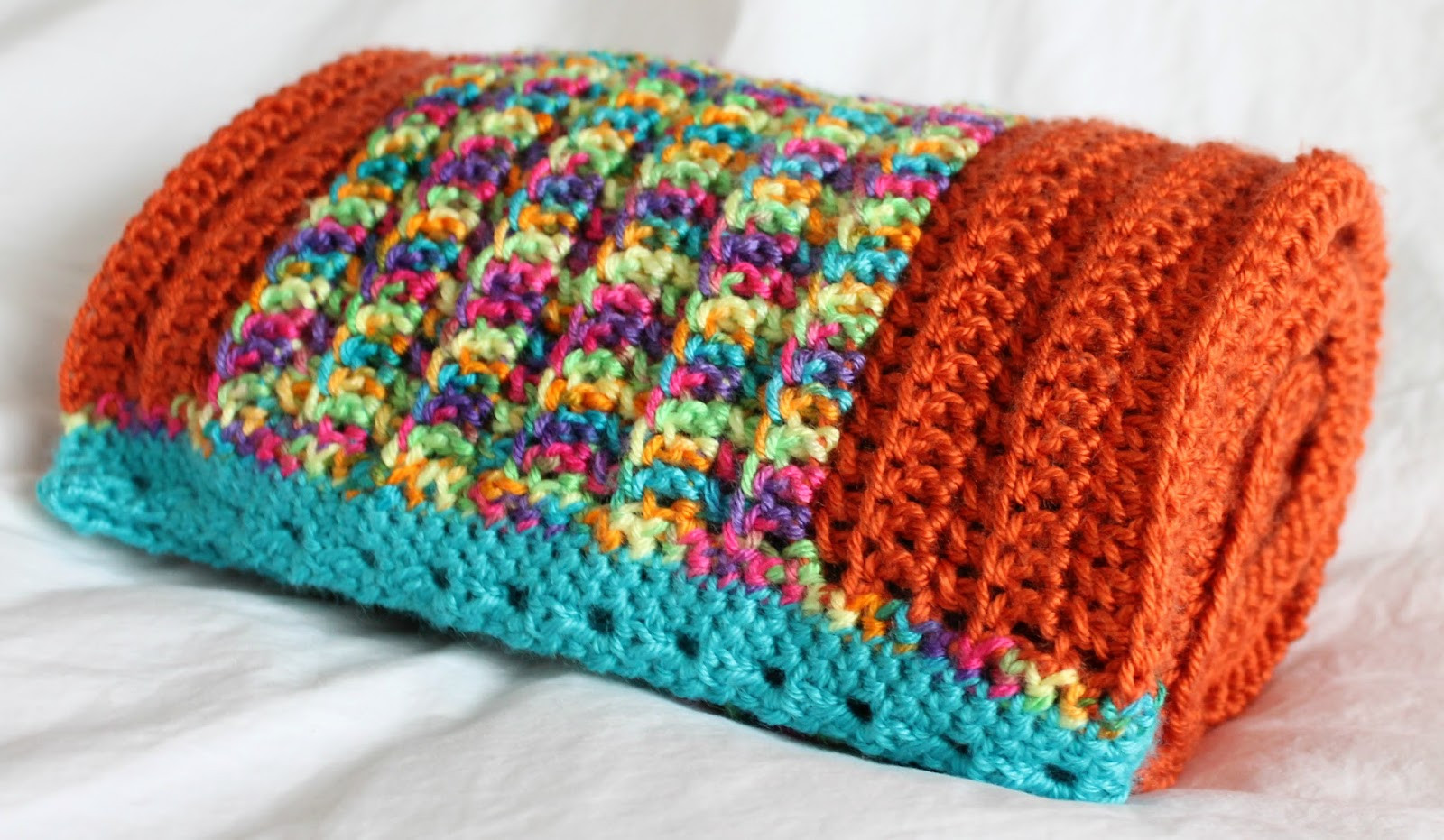 Beautiful the Inspired Wren Couch Craft Broad Stripe Baby Blanket Easy Crochet Projects Of Awesome 49 Pics Easy Crochet Projects