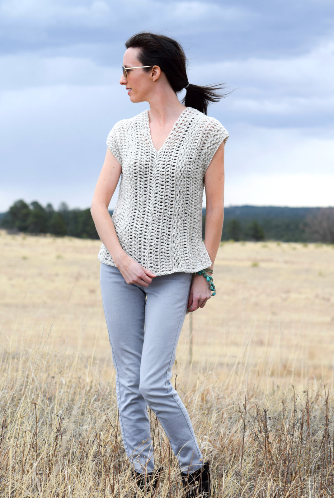 "Beautiful the ""topcho"" Easy Crochet Shirt Pattern – Mama In A Stitch Crochet Shirts Of Brilliant 43 Ideas Crochet Shirts"
