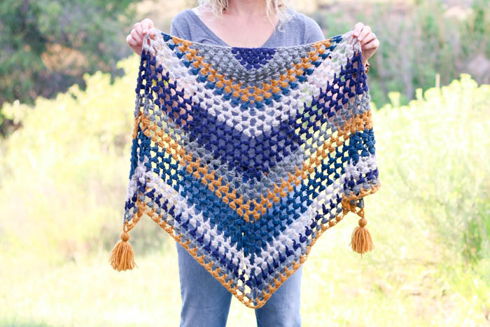 Beautiful the Revival Crochet Triangle Scarf Free Pattern and Crochet Triangle Scarf Of New 50 Images Crochet Triangle Scarf