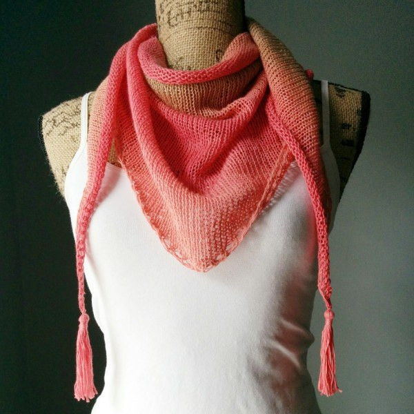 Beautiful the Simplest Triangle Shawl Ever – Knitting Triangle Shawl Of Lovely 41 Pics Triangle Shawl