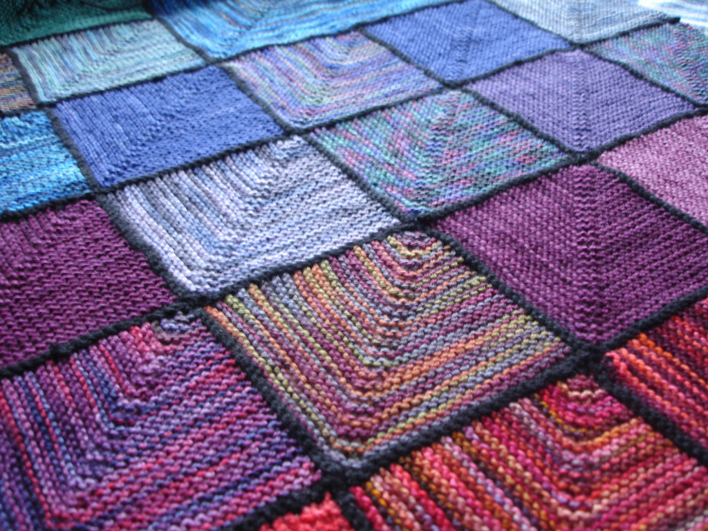 Beautiful the World S Best S Of Mitered and Squares Flickr Knitted Blanket Squares Of Unique 45 Photos Knitted Blanket Squares