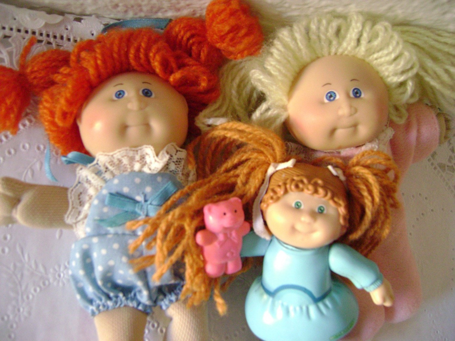 Beautiful Three Mini Cabbage Patch Dolls Vintage 80 S Cpk by Moonparade Small Cabbage Patch Dolls Of Unique 47 Pictures Small Cabbage Patch Dolls