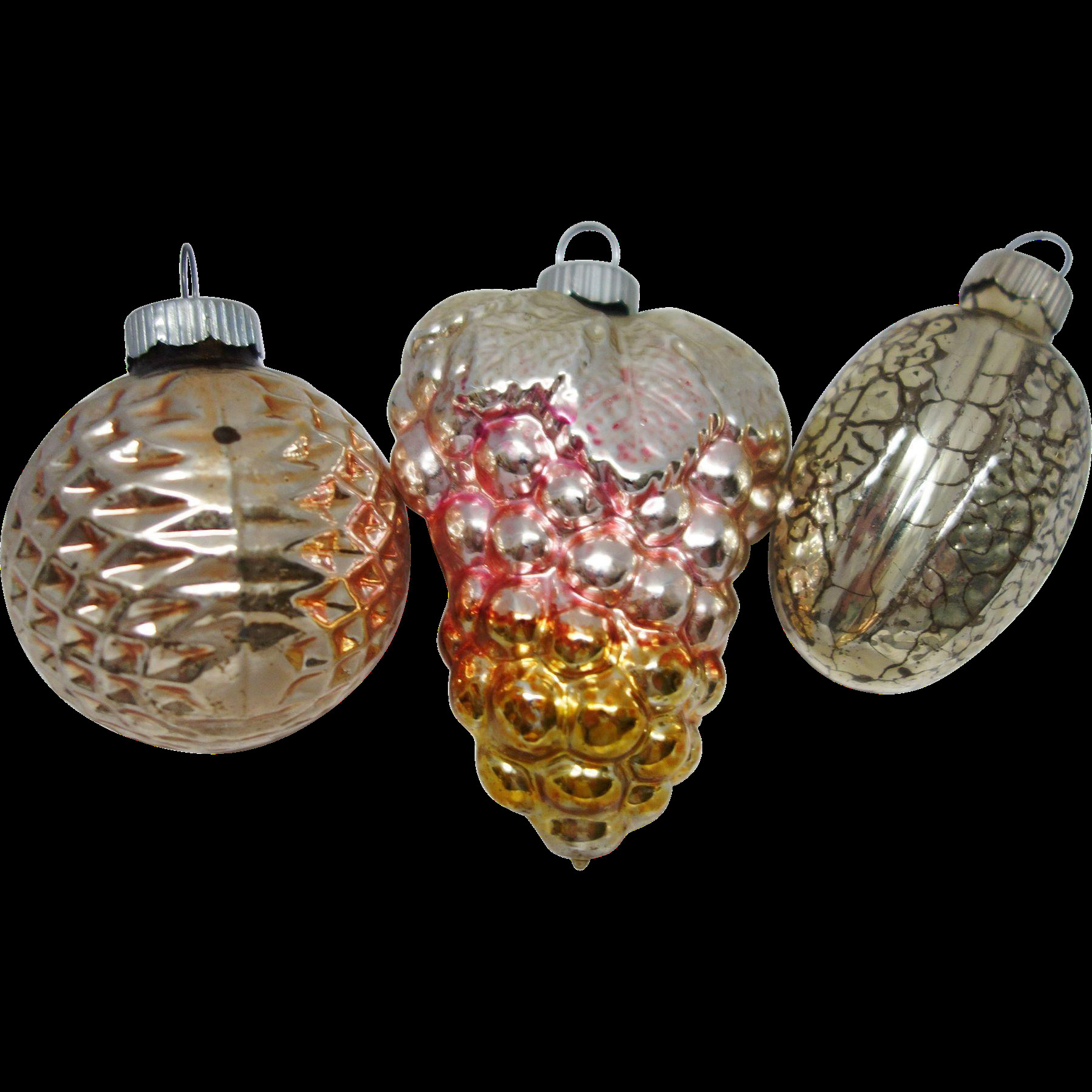 Beautiful Three Vintage Shiny Brite Figural Glass Christmas Shiny Brite ornaments Vintage Of Marvelous 46 Models Shiny Brite ornaments Vintage
