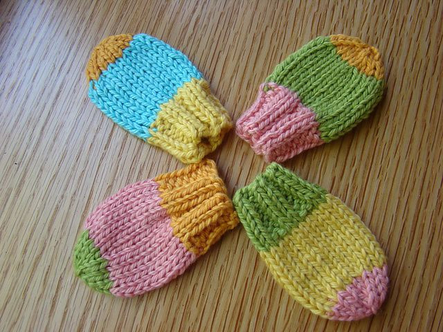 Beautiful Thumbless Baby Mitts You Could Add A Simple Crochet Chain Crochet Baby Mittens Of Incredible 49 Photos Crochet Baby Mittens