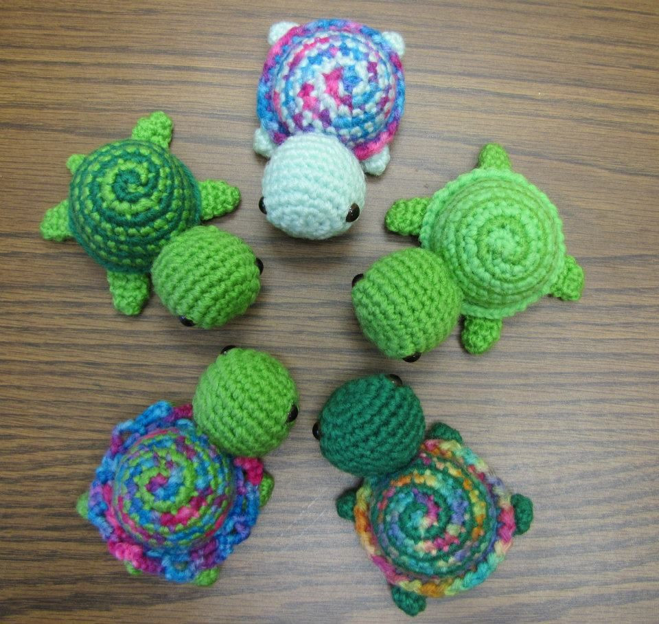 Beautiful Tiny Striped Turtles Free Crochet Pattern I Ll Pin these Easy Crochet Ideas Of Lovely 42 Pics Easy Crochet Ideas