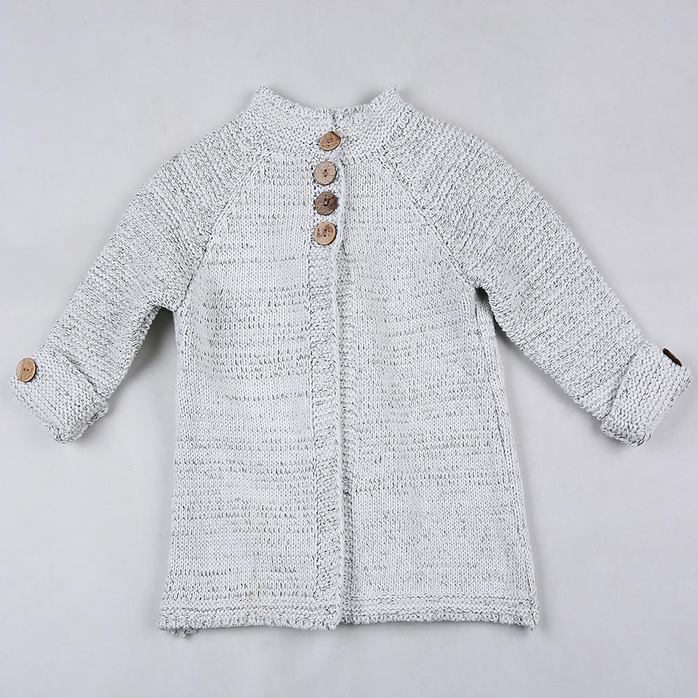 Beautiful toddler Kids Baby Girls Outfit Clothes button Knitted Baby Knitted Cardigan Of Amazing 41 Models Baby Knitted Cardigan