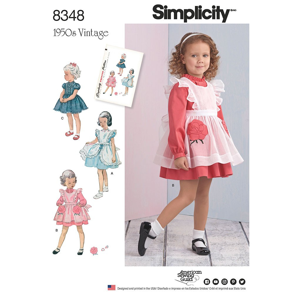 Beautiful toddlers Dress and Pinafore Simplicity Sewing Pattern 8348 toddler Clothing Patterns Of Wonderful 49 Pictures toddler Clothing Patterns