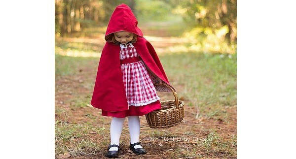 Beautiful Tutorial Little Red Riding Hood Cape for Little Girls Red Riding Hood Cape Pattern Of Charming 43 Pictures Red Riding Hood Cape Pattern