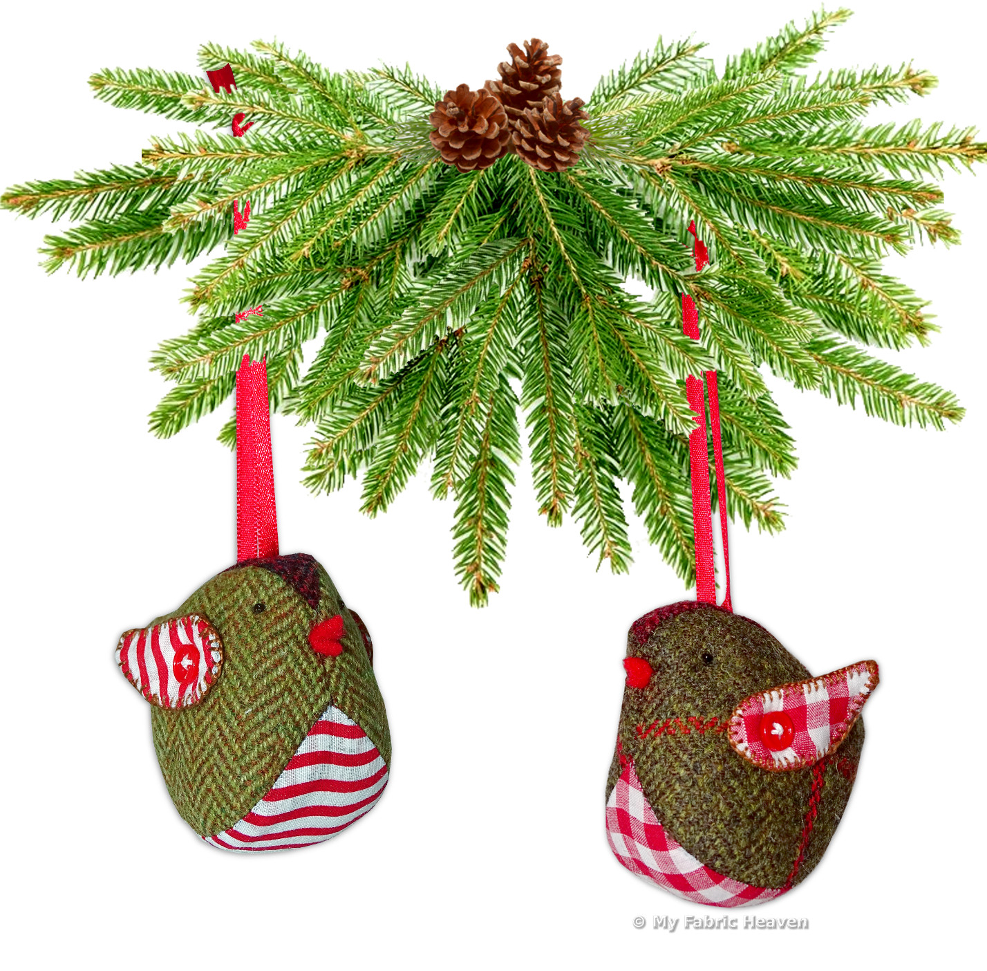 Beautiful Tweedy Pie Robin Christmas Decoration Fabric Sewing Christmas Sewing Patterns Of Contemporary 43 Images Christmas Sewing Patterns