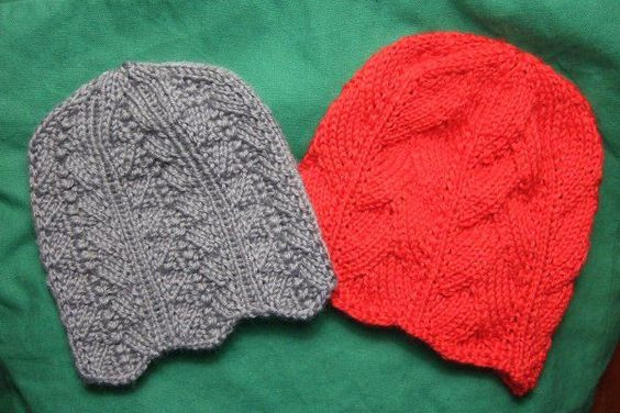 Beautiful Two Feminine Chemo Caps Charity Clothing Knitted My Free Knitted Chemo Hat Patterns Of Gorgeous 44 Ideas Free Knitted Chemo Hat Patterns