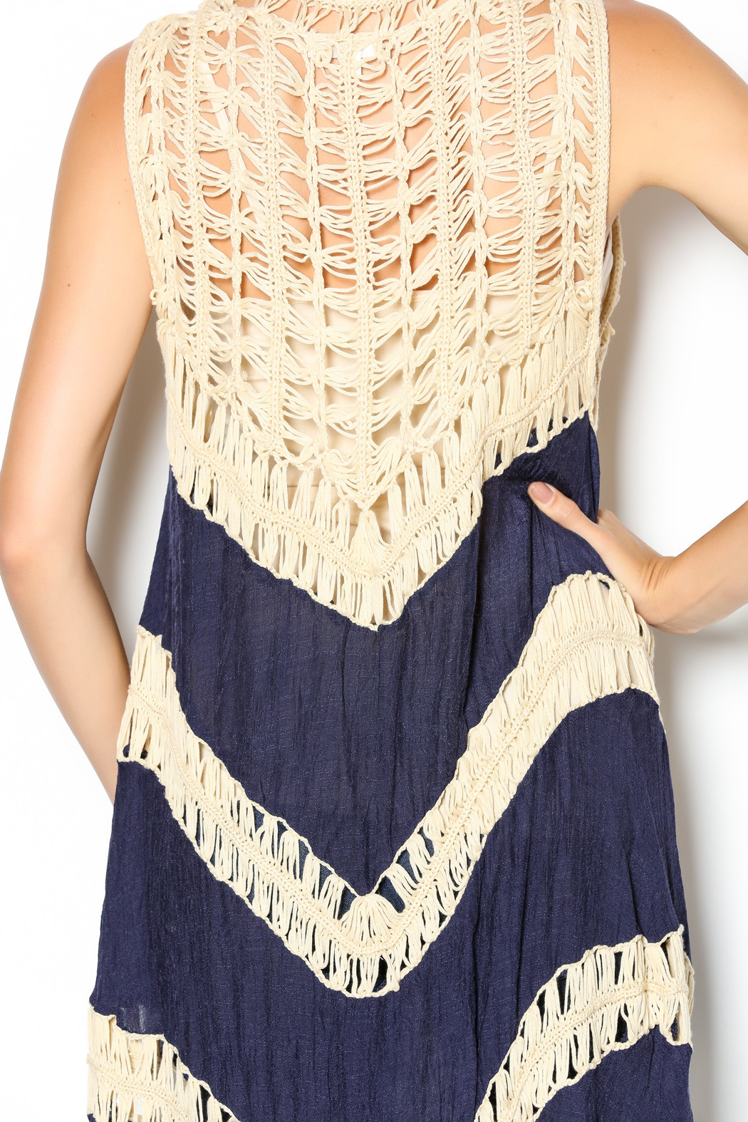 Beautiful Umgee Usa Navy Crochet Vest From California by the Crochet Vest Of Fresh 45 Pictures Crochet Vest