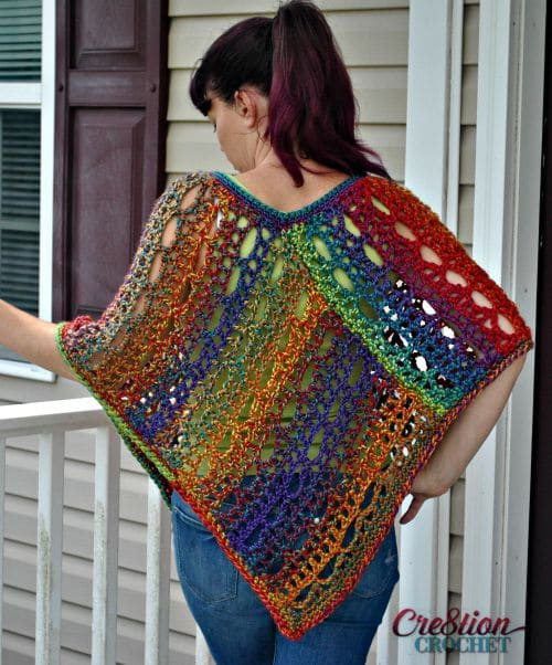 Beautiful Unique Lace Poncho Cre8tion Crochet Free Plus Size Crochet Patterns Of Top 45 Pics Free Plus Size Crochet Patterns