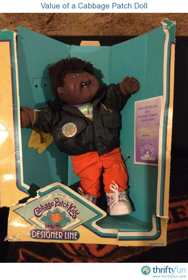 Value of a Cabbage Patch Doll
