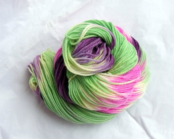 Beautiful Variegated Hand Dyed Yarn Pure Merino Wool 90g Skein Green Green Variegated Yarn Of Beautiful 50 Pics Green Variegated Yarn