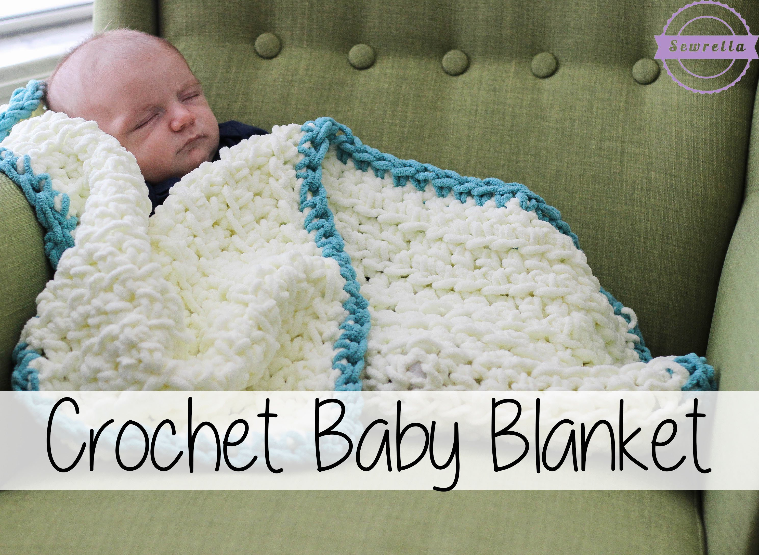 Beautiful [video Tutorial] This Super Simple Crochet Baby Blanket is Easy Knit Baby Blanket for Beginners Of Fresh 44 Pictures Easy Knit Baby Blanket for Beginners