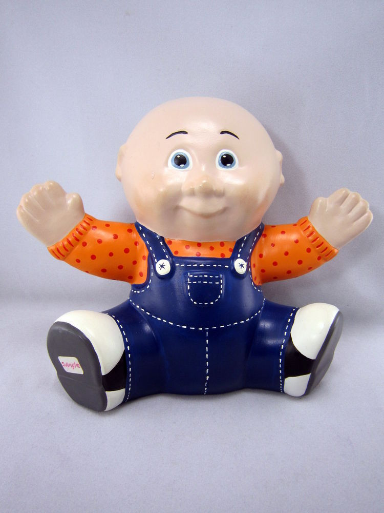 """Beautiful Vintage 80s Cabbage Patch Kids Ceramic Boy 7 5"""" Doll Collectible Cabbage Patch Dolls Of Luxury 42 Pics Collectible Cabbage Patch Dolls"""