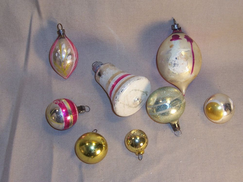 Beautiful Vintage Antique Glass Christmas ornaments Lot Vintage Glass ornaments Of New 48 Ideas Vintage Glass ornaments