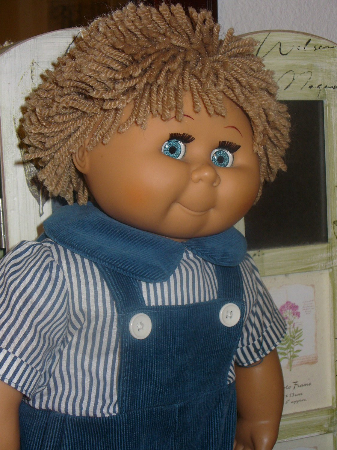 Beautiful Vintage Cabbage Patch Kids Type Doll David Craft orig Blue Old Cabbage Patch Doll Of Wonderful 47 Ideas Old Cabbage Patch Doll