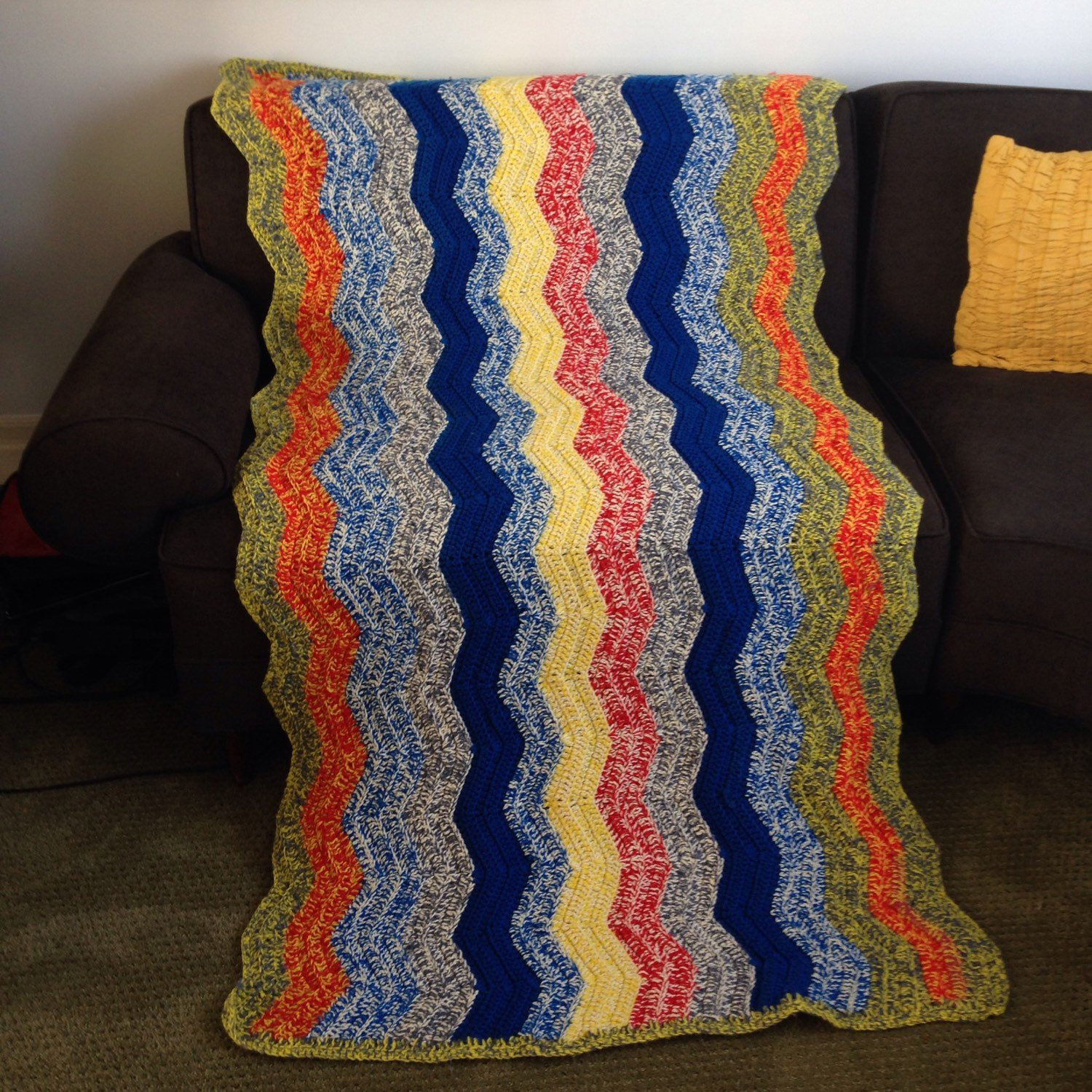 Beautiful Vintage Cotton Knit Chevron Lap Throw Blanket Afghan Twin Cotton Knit Blanket Of Innovative 42 Models Cotton Knit Blanket