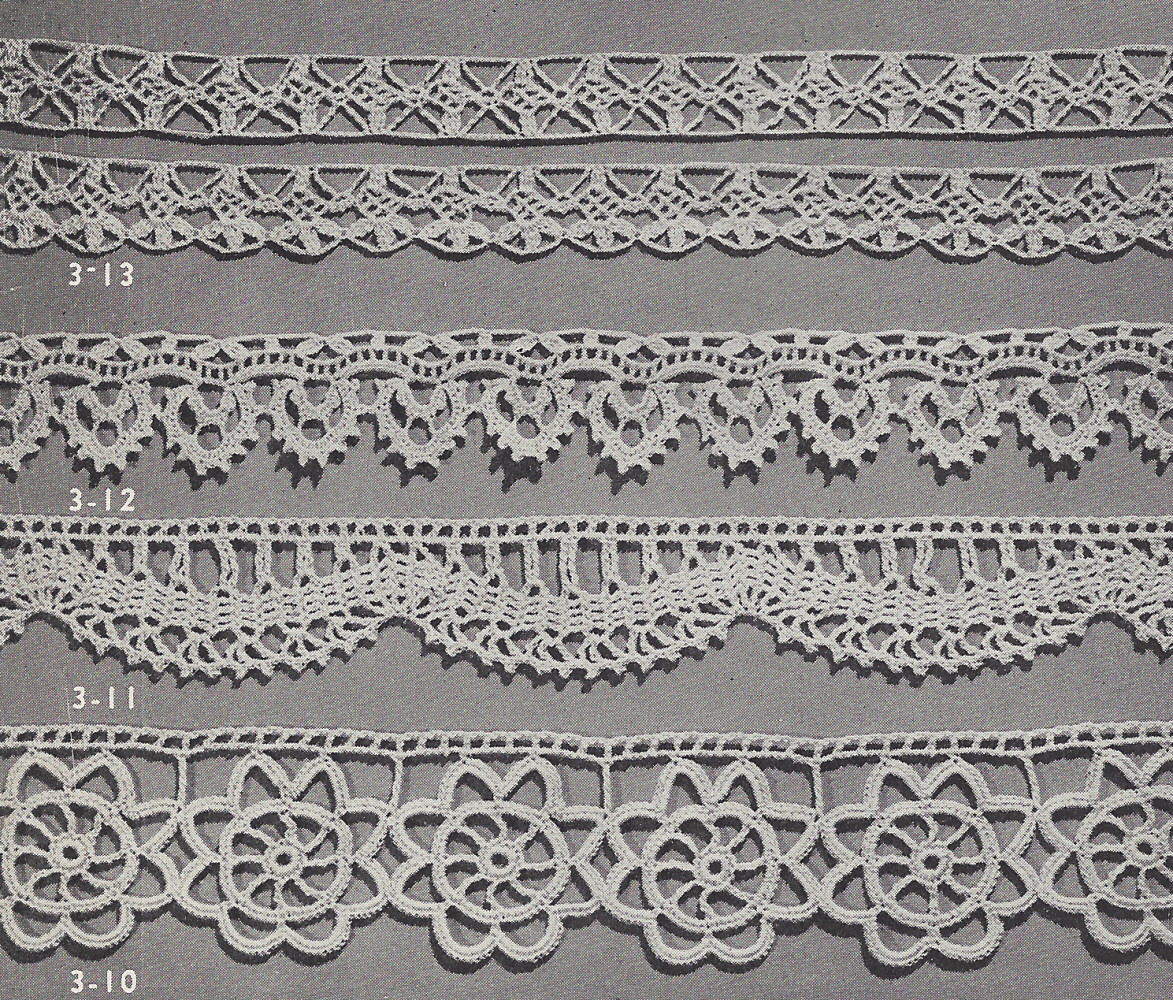 Beautiful Vintage Crochet Pattern to Make 4 Special Lace Edging Crochet Lace Trim Pattern Of Perfect 45 Pics Crochet Lace Trim Pattern