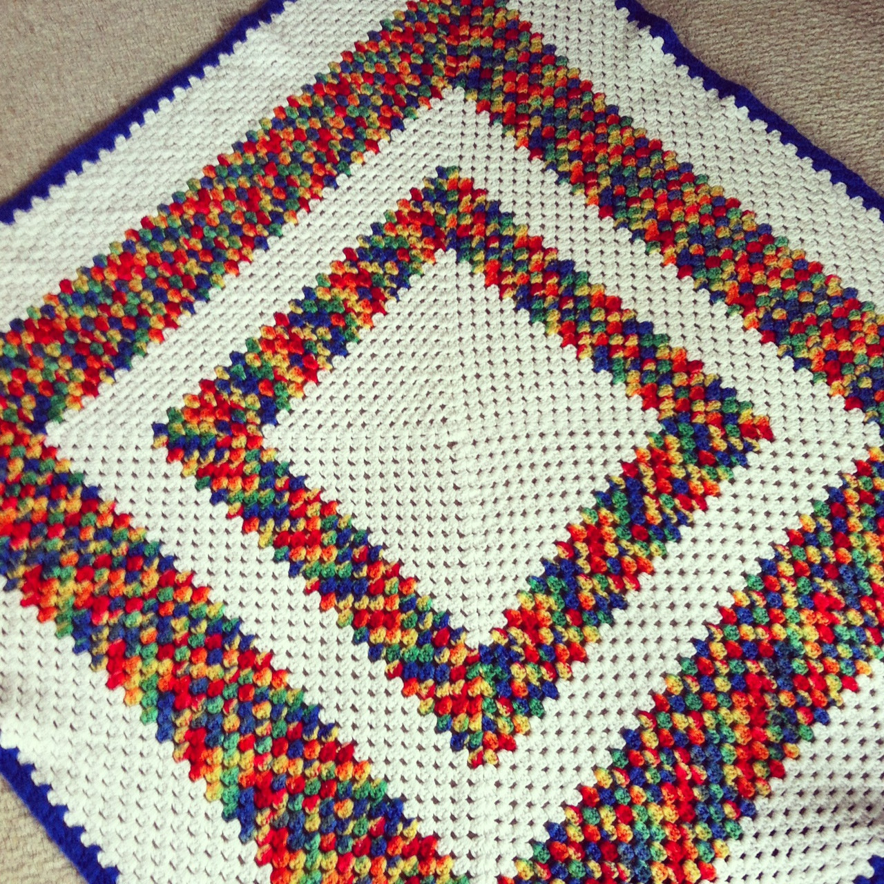 Beautiful Vintage Finds Granny Square Crochet Afghans Hello Granny Square Afghan Pattern Of Beautiful 49 Photos Granny Square Afghan Pattern