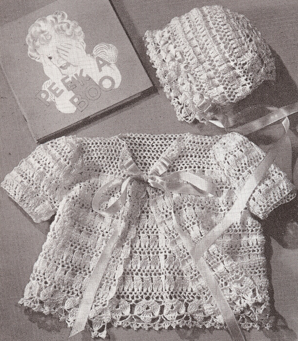 Beautiful Vintage Thread Crochet Pattern Baby Set Bonnet Sacque Vintage Crochet Patterns Of Attractive 43 Pictures Vintage Crochet Patterns